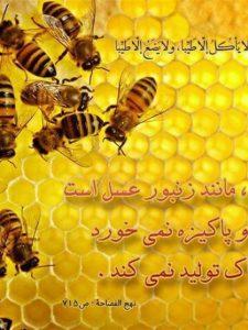 نحل و زنبور عسل در قرآن